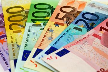 Gebrauchte Euro Scheine