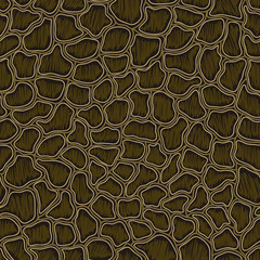 Abstract seamless animal pattern background