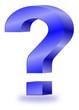 Fragezeichen 3D  #140123-svg04
