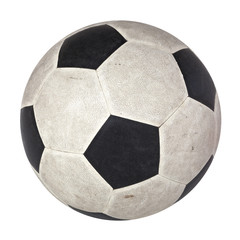used football soccer classic pattern skin black white