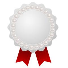 真珠 宝石 フレーム