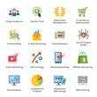 SEO & Internet Marketing Flat Icons - Set 3