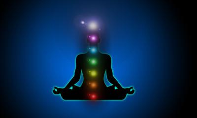 meditazione, yoga, fiore di loto