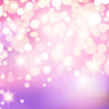 Pink Bokeh Background