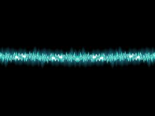 Seamless sound waves oscillating. EPS 10