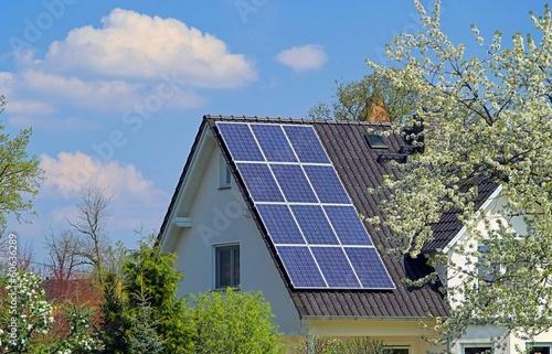 canvas print picture Solaranlage - solar plant 22