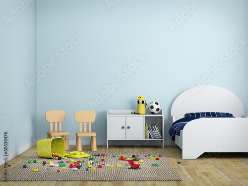 kid bed room
