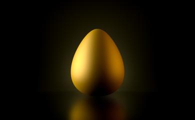3D - Goldenes Ei (II)
