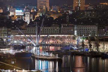 Cityscape of Genoa