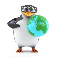 Academic penguin goes global
