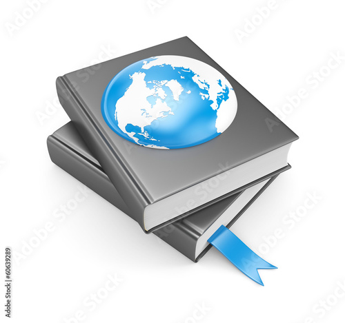 Books and earth. Global metaphors