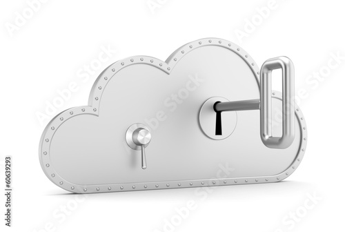 Steel cloud and safe lock