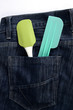 Baking spatula in Jeans pocket