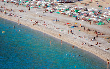 Cleopatra Beach, Alanya Turkey