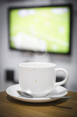 coffee for live football
