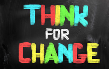 Think For Change Concept