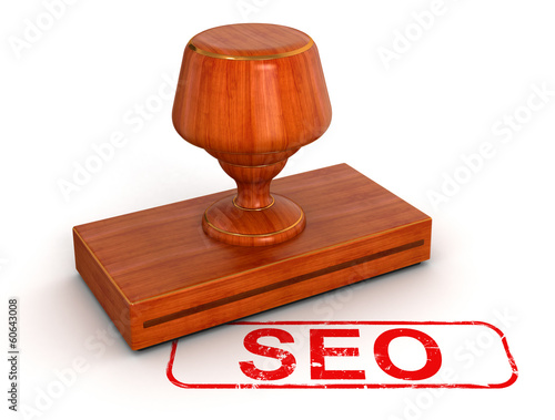 Rubber Stamp SEO (clipping path included)