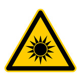 symbol for optical radiation german optischer strahlung g455