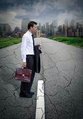 Recherche d'emploi crise