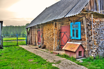 A typical village house hdr