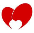 Herz  Sprechblase