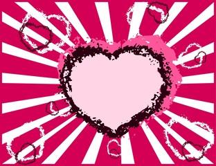 valentine heart, wallpaper