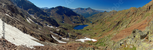 Towards Pica d'Estats, top of Catalonia, Pyrenees