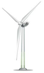 Windkraftwerk freigestellt