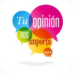 Tu opinión nos importa!