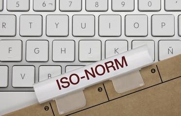 ISO-Norm. Tastatur