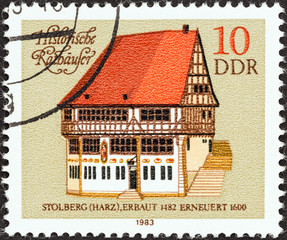 Stolberg Town Hall (German Democratic Republic 1983)