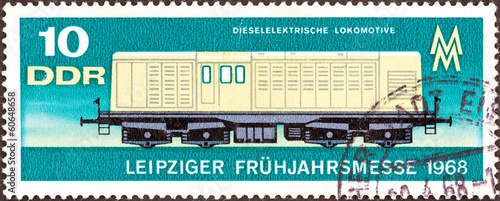 DE1 Diesel-electric Locomotive (German Democratic Republic 1968)
