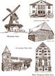 Stadtansichten Achim Gebäude historisch Architektur