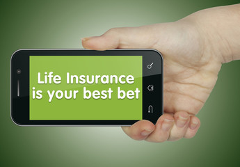 Life insurance is your best bet. Phone