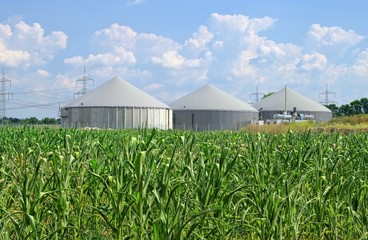 Biogasanlage - biogas plant 91