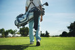 Golf bag man - 60650833