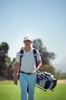 Golf bag man
