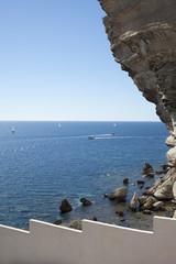 South Corsica coast.