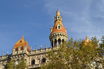 Modernist Architecture in Barcelona, Spain