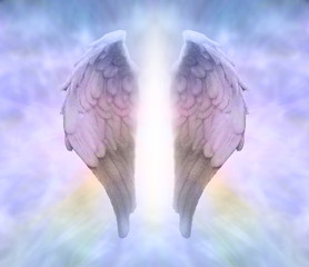 Angel Wings and Divine Light