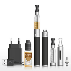 E-cigarette, e-liquid tobacco