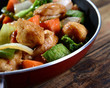 Chinese meal wok