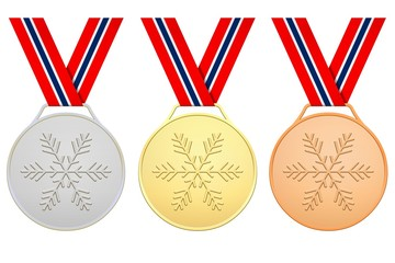 Norwegian medals For Winter games