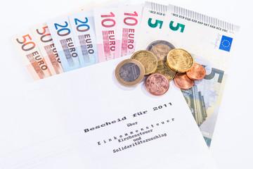 Steuerbescheid - Einkommensteuererklärung