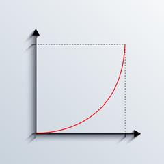 vector graph iilustration. business background. Eps10