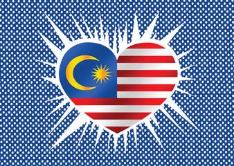 Malaysia flag design
