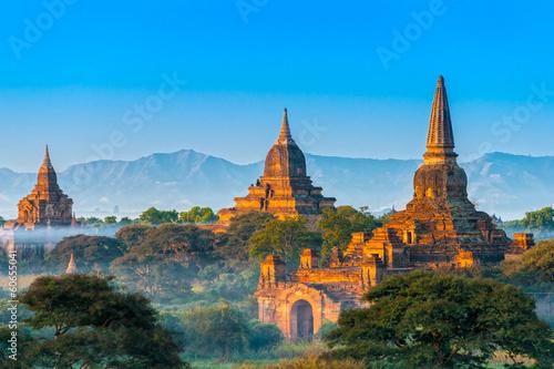 Poster Bagan, Myanmar.
