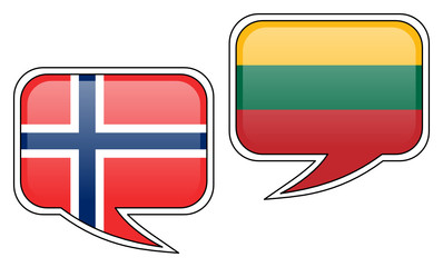 Norwegian-Lithuanian Conversation