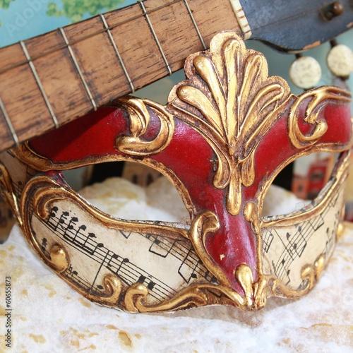 Papiers peints Venise Masque de carnaval