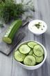 insalata di cetriolo